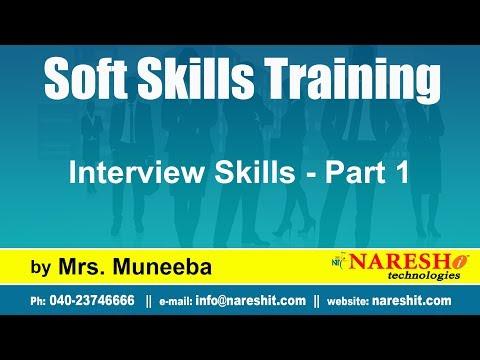Interview Skills - Part 1   Soft Skills Tutorial