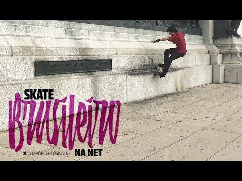 Skate Brasileiro na Net - Ygor Picolino - CemporcentoSKATE