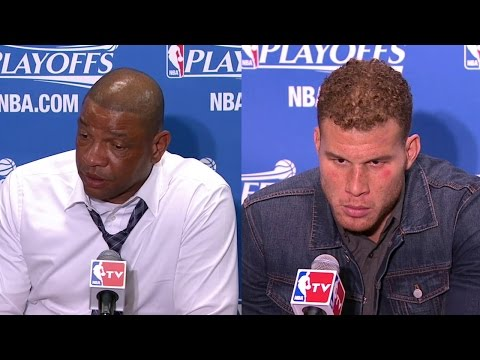 Doc,Blake Griffin Postgame Interview   Rockets vs Clippers   Game 6   May 14, 2015   NBA Playoffs