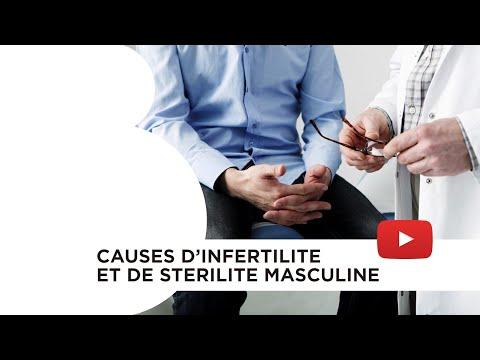 Causes d'infertilité et de stérilité masculine