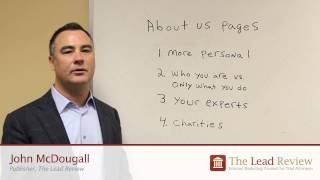 """How to Write an """"About Us"""" Page for a Law firm Website"""