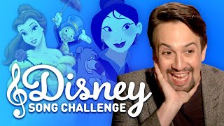 Disney Song Challenge with Lin-Manuel Miranda