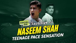 Naseem Shah's exclusive interview  - Getting into cricket, England tour, future ambitions and more