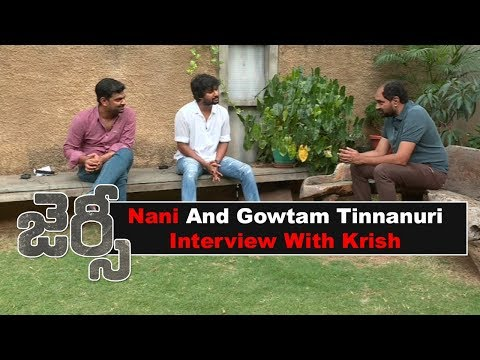 Nani and Gowtom Interview About Jersey With Director Krish
