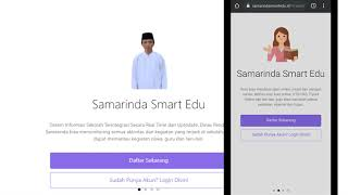 Tutorial login ke apilikasi samarinda smart edu (SSE) dan ujian dengan apilikasi samarinda smart edu