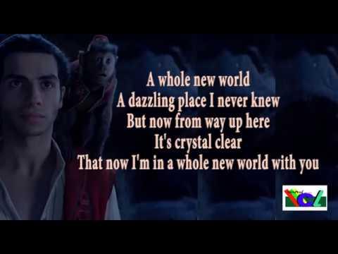 A whole new world lyric ( Peabo Bryson Feat Regina Belle )