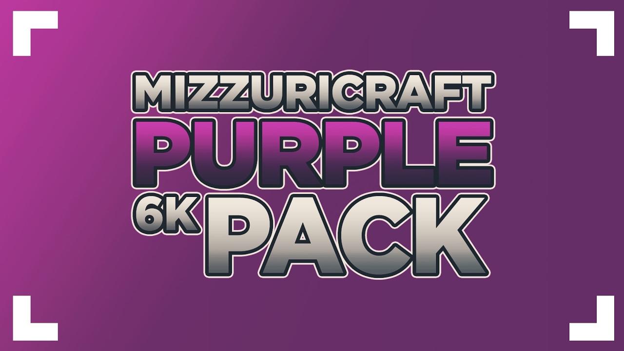 MizzuriCraft Purple Pack [6k]