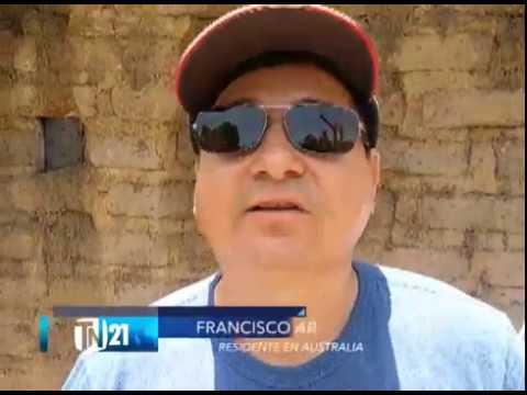 Salvadoreños residentes en el exterior donan panales solares a familias de Las Chinamas
