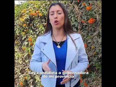 Florencia López se lanzó como candidata a gobernadora de la provincia.