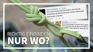 Mammut Klettergurt Einbinden : Edelrid d vent klettergurte de Самые популярные видео