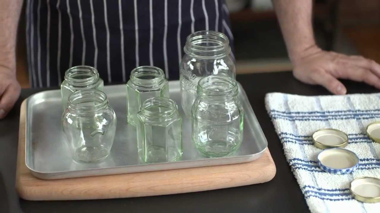 How To – sterilise jars