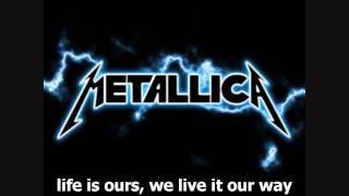 Metallica   Nothing Else Matters [Lyrics]