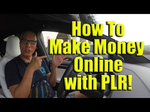 How To Make Money Online with PLR (Private Label Rights)