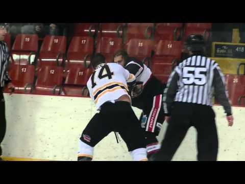 Patrick Bernier vs. Adam Leblanc-Bourque