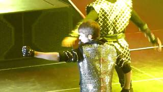 Justin Bieber   Never Say Never Ft Jaden Smith   Live Sheffield 23 March 2011   HD