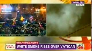 Papal conclave selects a new Pope (CNN, 3/13/2013)