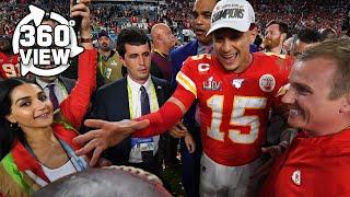 Super Bowl LIV Postgame All-Access in 360º