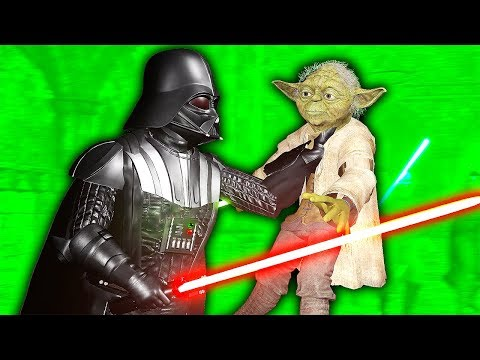 DARTH VADER FIGHTS YODA IN VIRTUAL REALITY - Blades and Sorcery VR Mods (Star Wars)