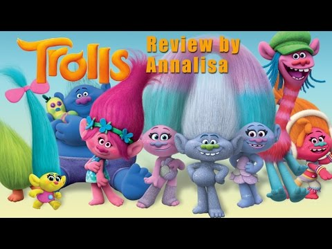TROLLS Movie Review for Kids