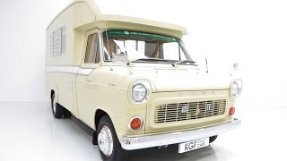 preview picture of video 'The Best Jennings Ford Transit Roadranger in Existence with Just 40,169 Miles from New - SOLD!'