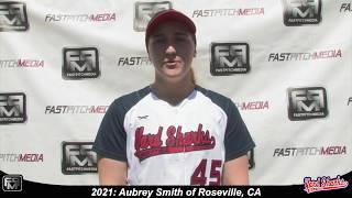 2021 Aubrey Smith Pitcher Softball Skills Video - Yardsharks