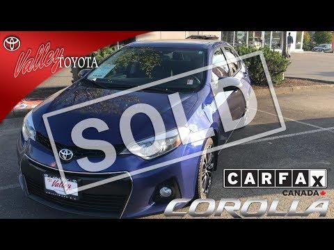 Pre-Owned 2015 Toyota Corolla S Technology Pkg