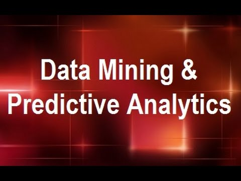 MicroStrategy - Data Mining & Predictive Analytics - Online Training ...