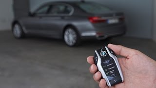 How To Self Park Your BMW 7 Series