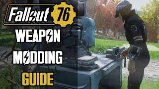 Fallout 76 Weapon Crafting Guide - All You Need To Know About Obtaining Weapon Mods & Applying Them!
