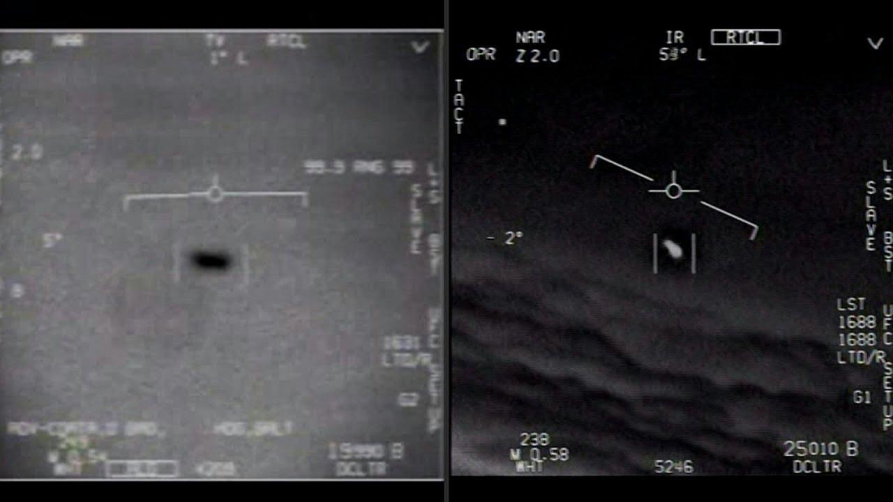 El Pentágono difunde vídeos de ovnis filmados por pilotos de la Marina de EEUU   AFP