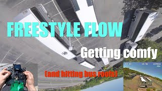 Freestyle Flow Getting Comfy | FPV Freestyle