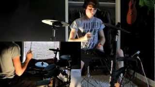 Savin' Me- Nickelback Drum Cover by Louis Metzinger