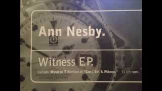 Ann Nesby - Can I Get A Witness (Mousse T's Funk 2000 Mix)