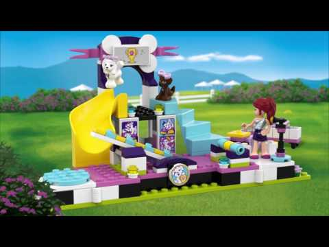 Vidéo LEGO Friends 41300 : Le concours canin pour chiots