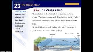 23.3 The Ocean Basin