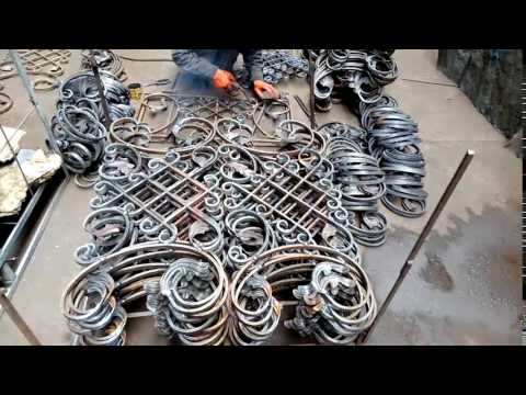 Welding Wrought Iron Decorative Panels For Balcony Railings Mp3