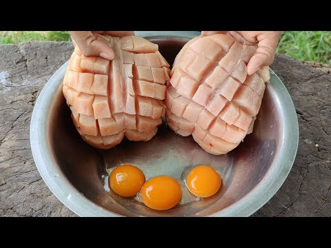 Tasty Chicken Chest Fried Eggs Recipe / Kdeb Cooking