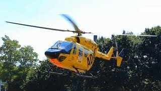 preview picture of video 'ADAC Hubschrauber Start in Wuppertal'
