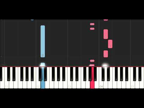 Lil Peep - Benz Truck (SLOW EASY PIANO TUTORIAL) R.I.P.