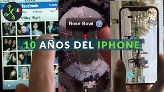 La evolución de iPhone a través de 10 años