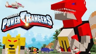 REAL MINECRAFT POWER RANGERS!!