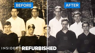 How A 90-Year-Old Photograph Is Professionally Conserved | Refurbished
