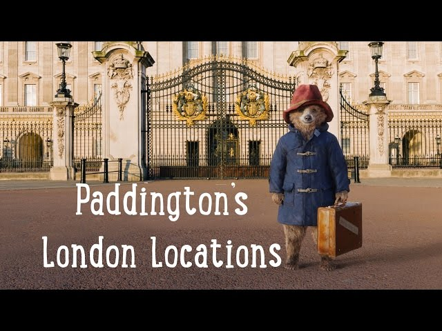 Paddington Bear's London