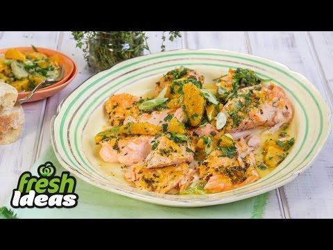 Slow Roasted Salmon Recipe