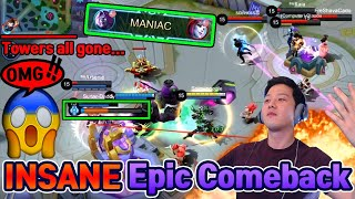 "You MUST: ""Watch Insane MOSKOV Epic Comeback"" ㅣMobile Legends"