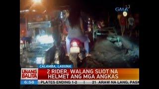 UB: 2 rider, walang suot na helmet ang mga angkas