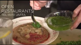 """Open Restaurants"" in Tel Aviv-Jaffa Showcases Israel"
