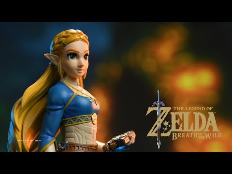 Видео № 0 из игры Фигурка First4Figures Legend of Zelda: Breath of the Wild - Zelda