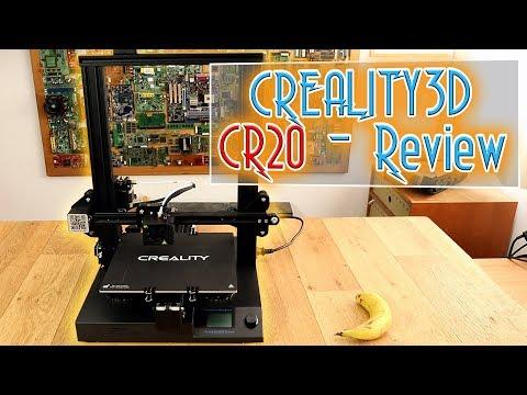 Creality-CR20 3D printer – Review