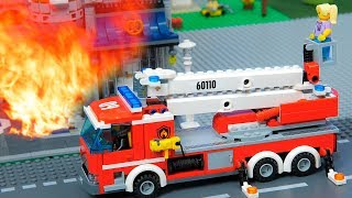 Cars Toys Play: Fire Truck , Excavator , Tractor Toy Vehicles for Kids